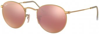 Ray-Ban Round Metal Flash Lenses RB3447-112/Z2-50