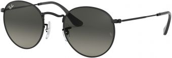 Ray-Ban Round Metal Flat Lenses RB3447N-002/71-50