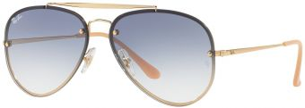 Ray-Ban Blaze Aviator Flat Lenses RB3584N-001/19-58