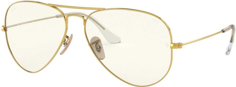 Ray-Ban Aviator Large Metal Clear Evolve RB3025-001/5F