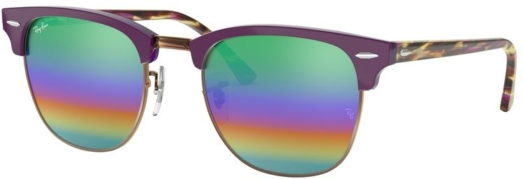 Ray-Ban Clubmaster Mineral Flash Lenses RB3016 1221C3 4921