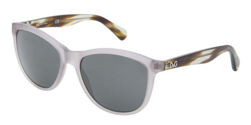 D&G Playful Chique Matte Grey Transparent - Grey