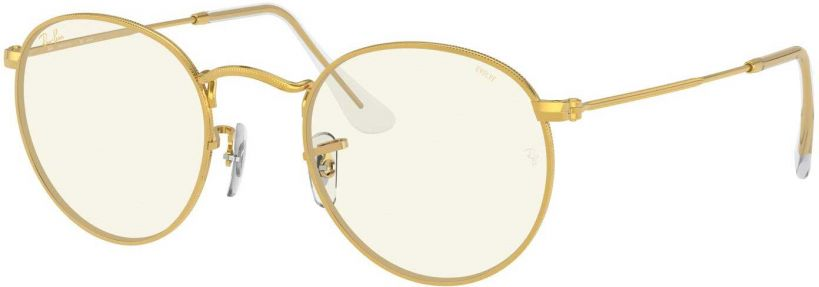 Ray-Ban Round Metal RB3447-9196BL