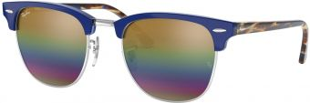 Ray-Ban Clubmaster Flash Lenses RB3016-1223C4-49