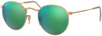 Ray-Ban Round Metal Flash Lenses RB3447-112/P9-53