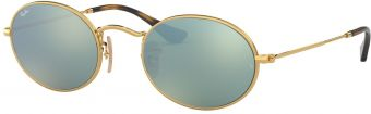 Ray-Ban Oval Flat Lenses RB3547N-001/30-51