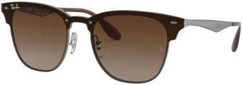 Ray-Ban Blaze Clubmaster Flat Lenses RB3576N-041/13-41