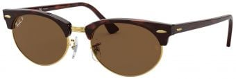 Ray-Ban Clubmaster Oval RB3946-130457-52