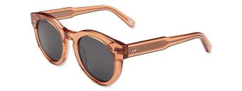 Chimi Eyewear #003 Peach Black
