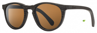 Shwood Belmont Dark Walnut - Brown Polarized