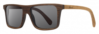 Shwood Govy: Walnut / Oak Temple - Grey