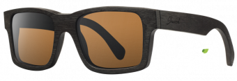 Shwood Haystack Dark Walnut - Brown Polarized