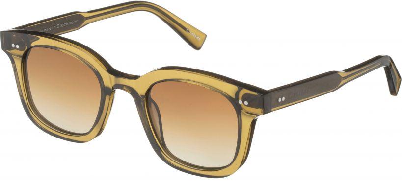 Chimi Eyewear #02 Green/Gradient Brown