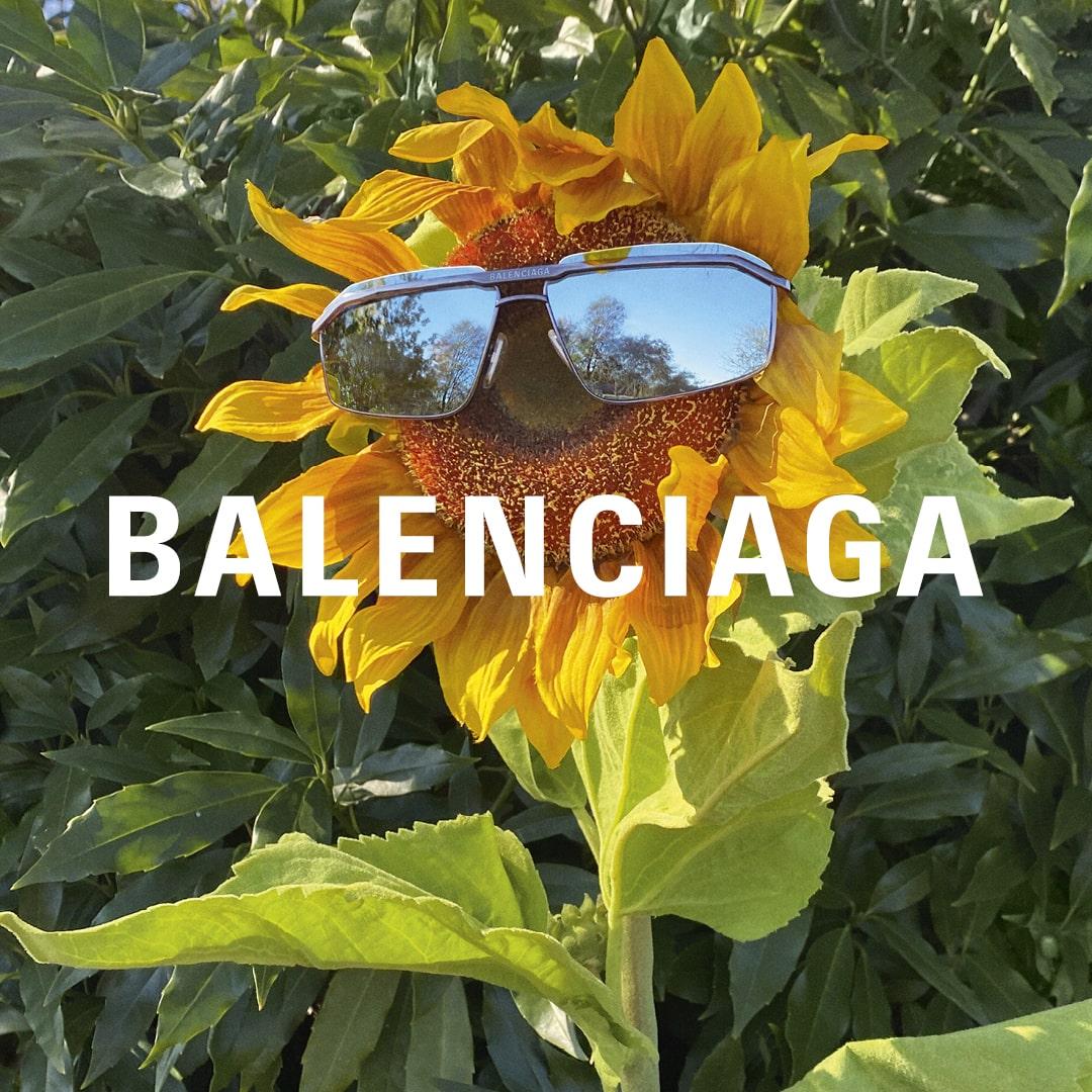 Balenciaga heren zonnebrillen
